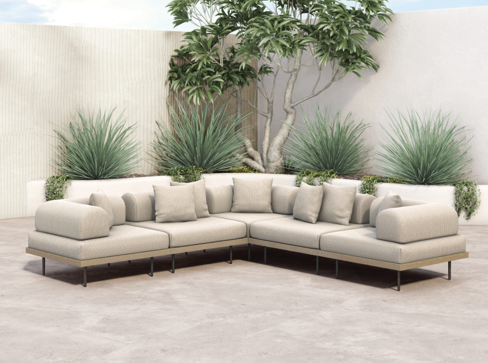 Flexible Lounging Yves Outdoor Sectional