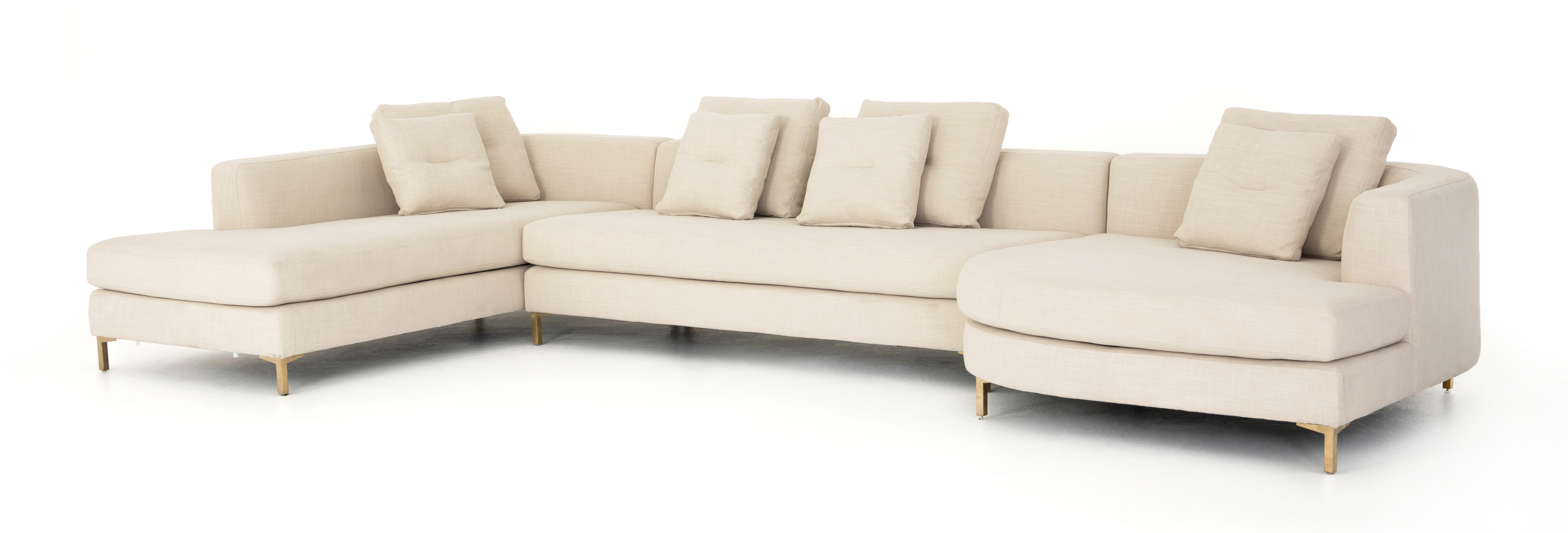 Greer 3 Piece Sectional
