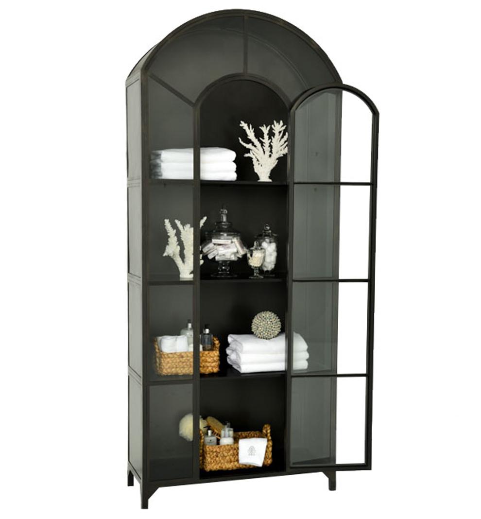 Ordinaire Shadow Box Industrial Curio Metal Cabinet