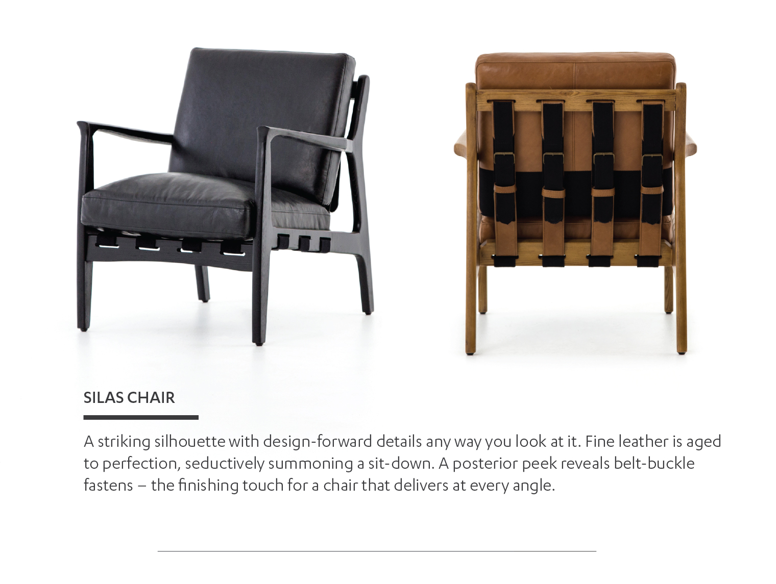 Mix In Rich Leather Cool Linen Or A Lounge Inducing Incline And Suddenly The Traditional Definition Of Chair Takes On Vastly New Meaning