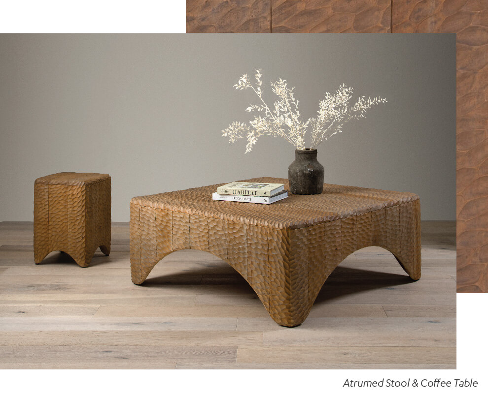 Atrumed Stool and Coffee table