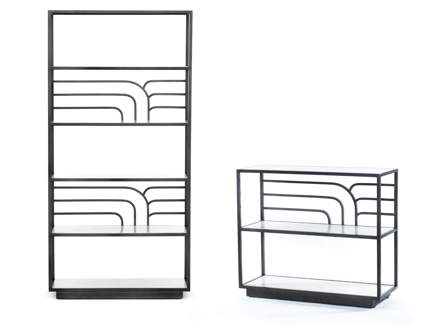 Marcel Bookshelf & Console Table
