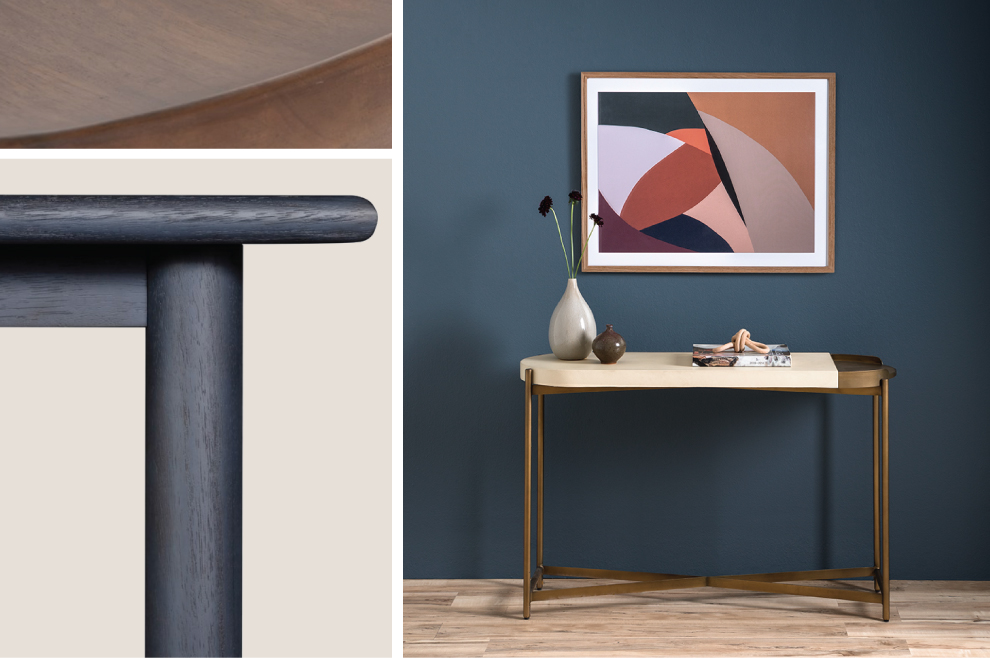 Shape Study, curves and cylinder trend in furniture