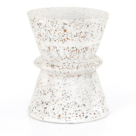 Lina End Table Terrazzo Outdoor