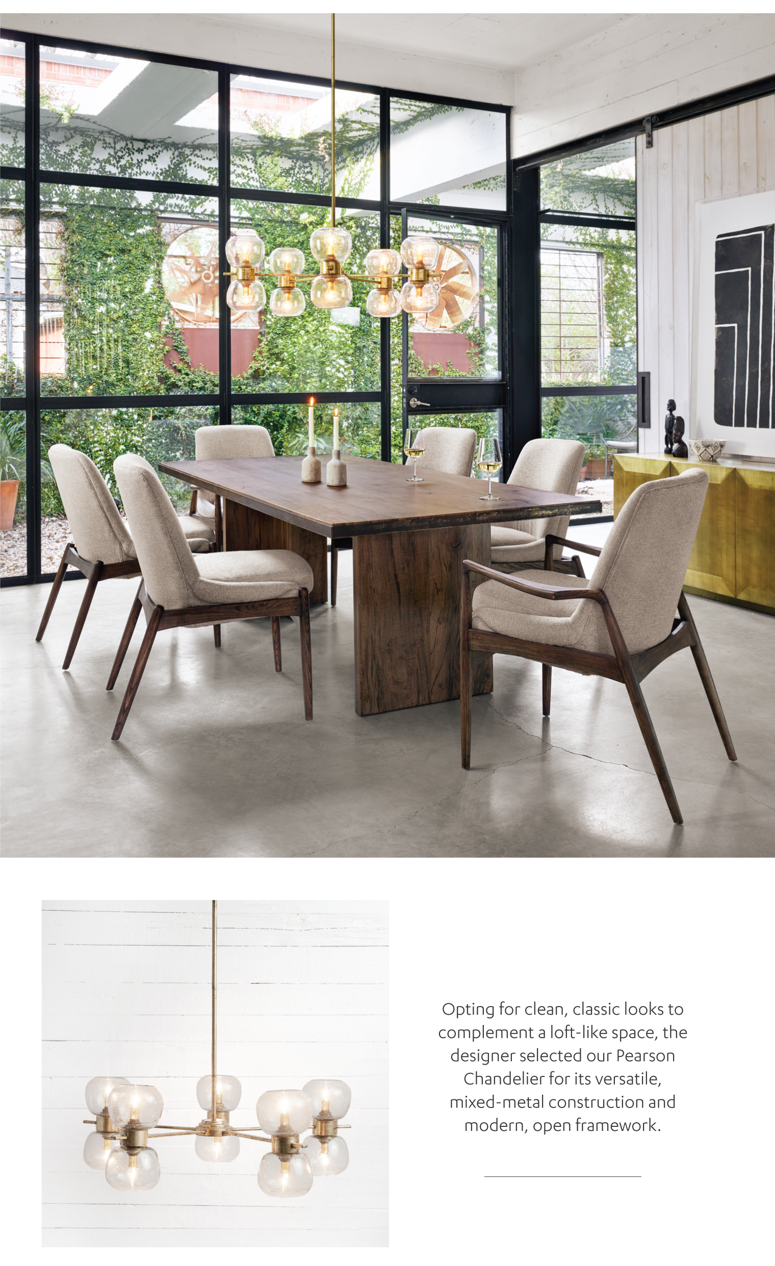 ... Simple But Stylish Space, Perfect For A Professional Couple New To  Austin. In His Thoughtful Conception, Ashby Employed Two Standout Four Hands  Designs.