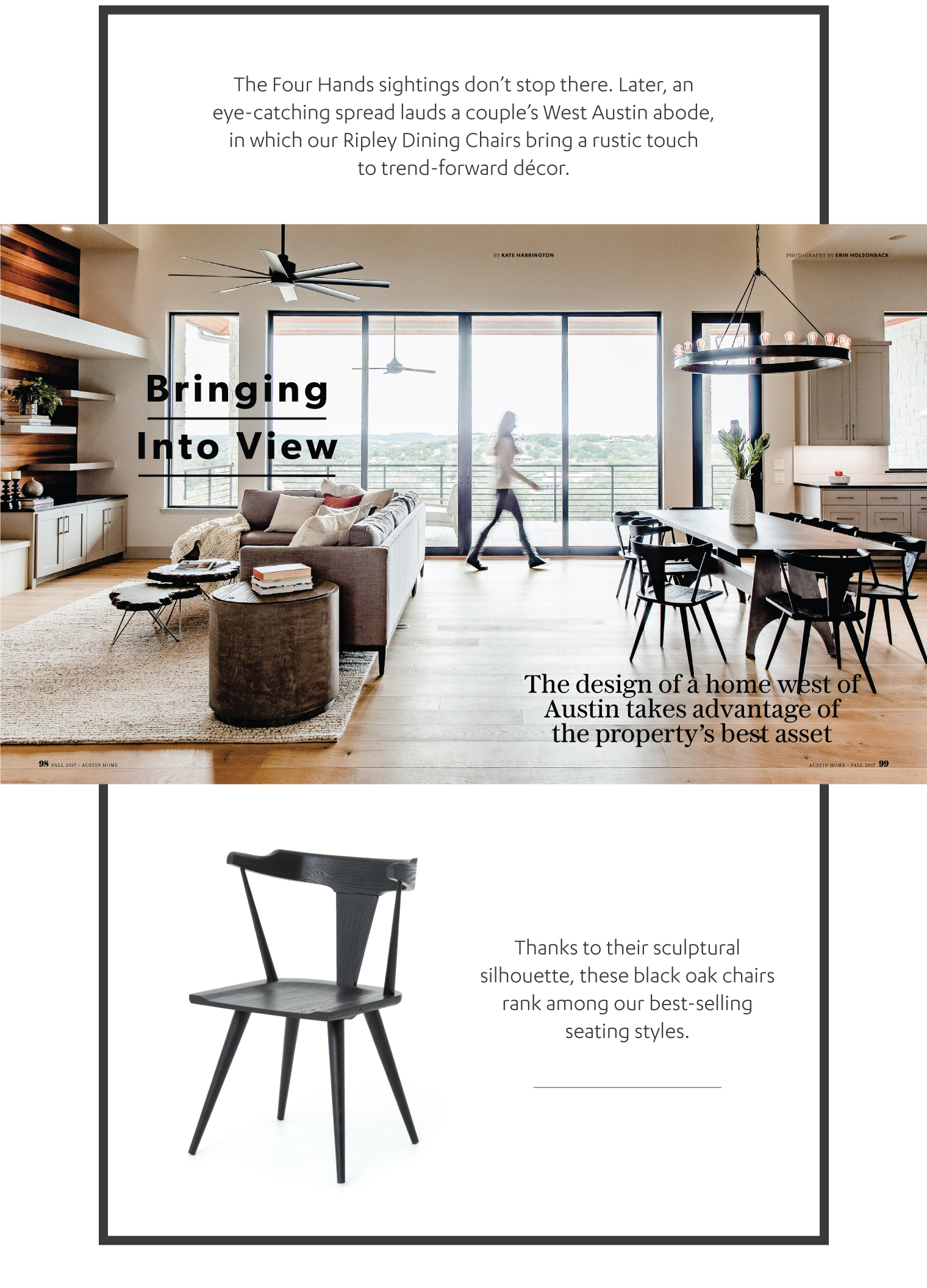 Awesome Mark Ashby Picks In Austin Home Four Hands Ocoug Best Dining Table And Chair Ideas Images Ocougorg