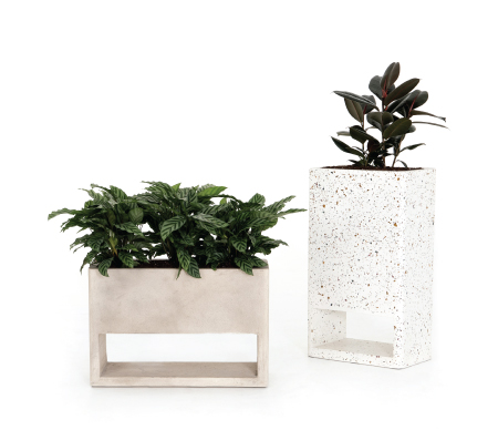 Fauna Small & Tall Outdoor Planters
