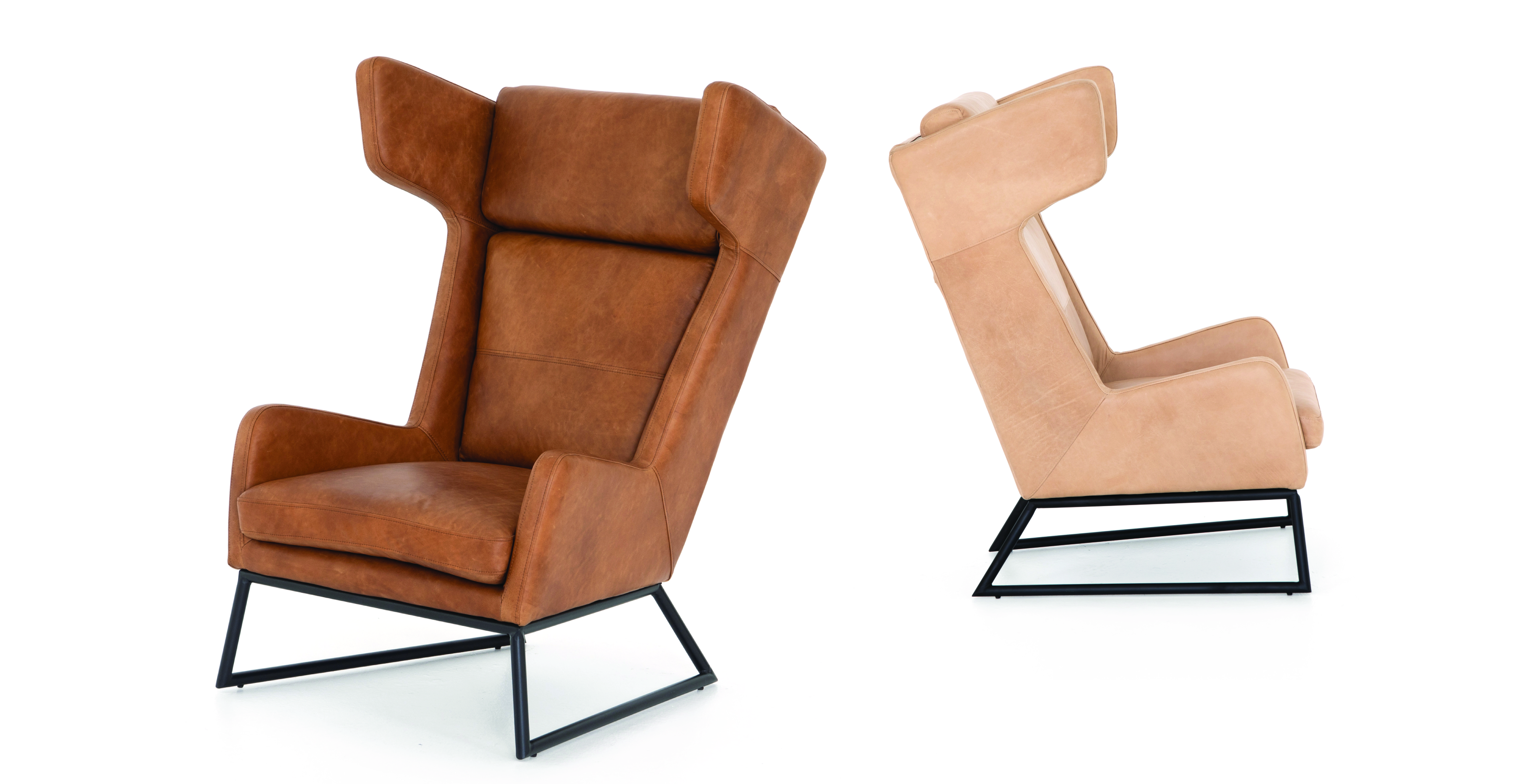 Lavaca Leather Chair