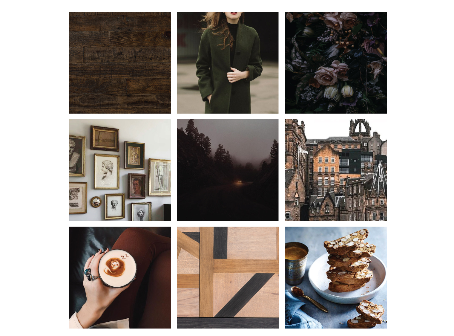 October Set the Fall Mood Board
