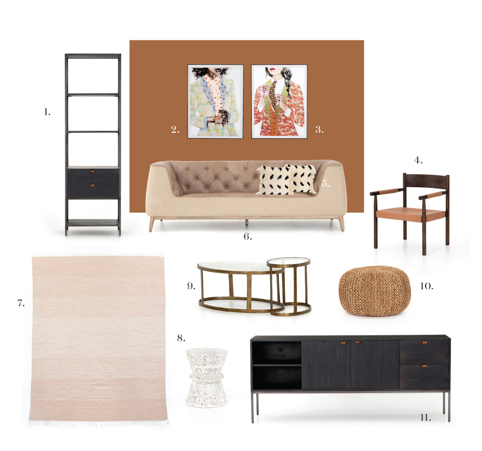 Set the Mood: September 2019 Fall Living Room