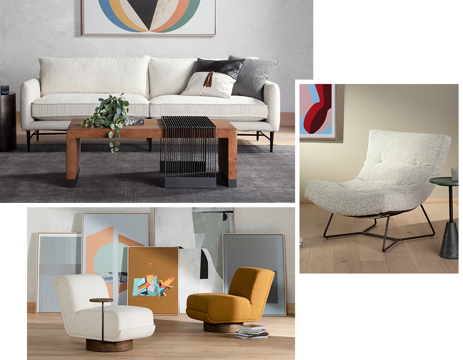 Fall 2020 Trends Heavy Textured Upholstery
