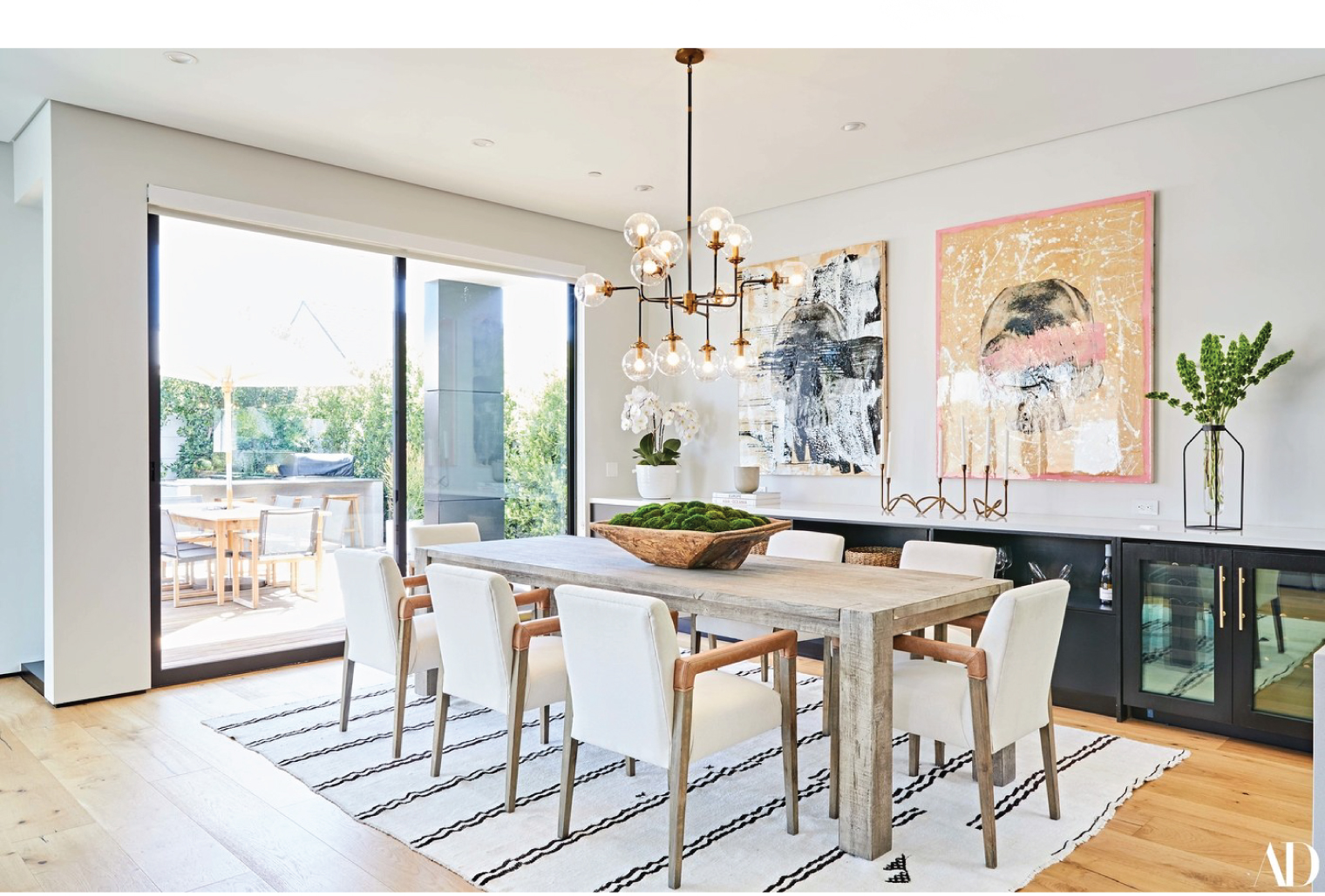 Claire Holt Dining Room