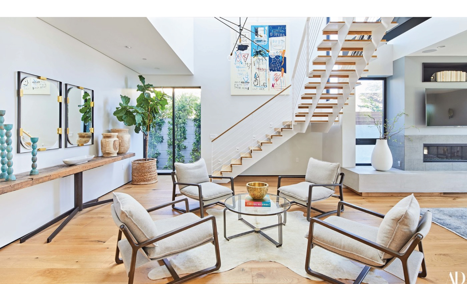 Claire Holt Living Room