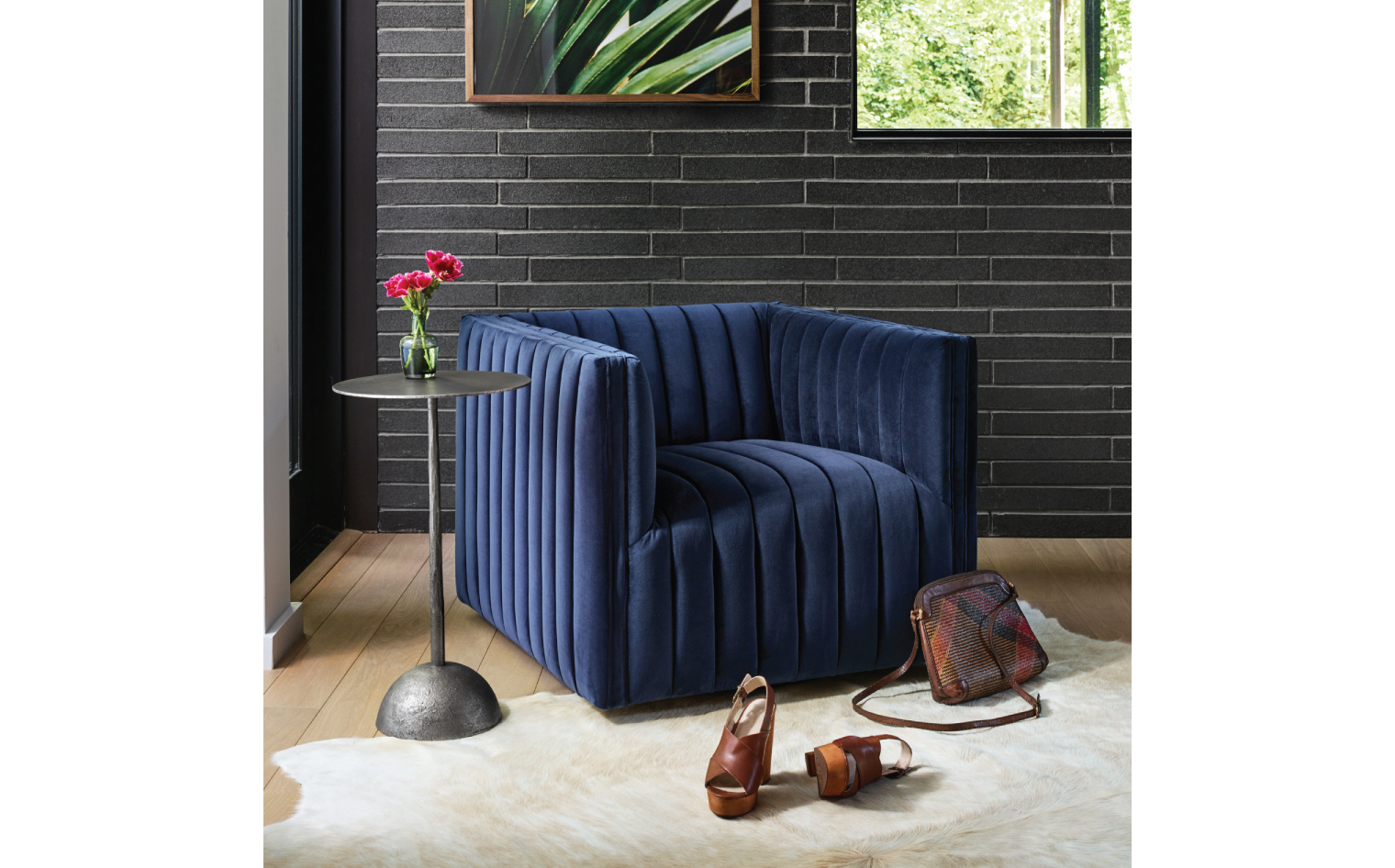 Swell Top Brand Stylist Tips For Styling With Velvet Four Hands Evergreenethics Interior Chair Design Evergreenethicsorg