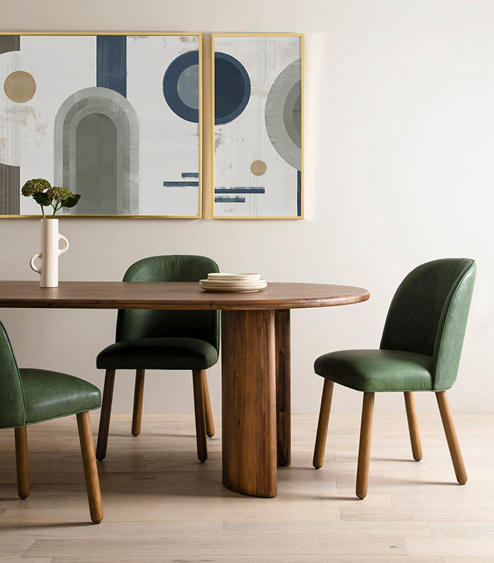 Paden Dining Table Aurbree Dining Chair