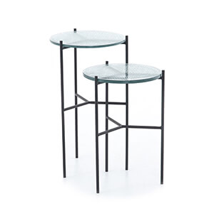 Poppy end tables Four Hands