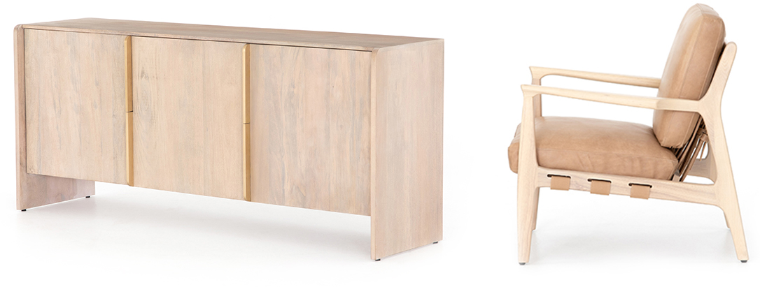Layla sideboard and Silas Chair