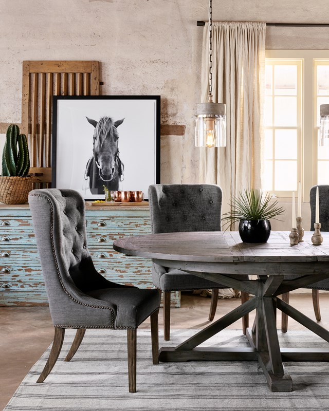 From Left To Right Cintra Extension Dining Table 63 79 Concrete