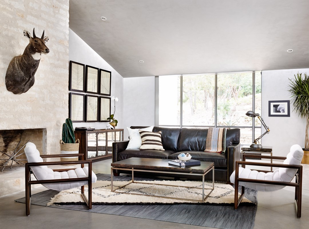 Lookbook gallery from left to right fitz chair line series vaughn media console roman coffee table larkin 88 sofa spring desk lamp roman side table geotapseo Gallery