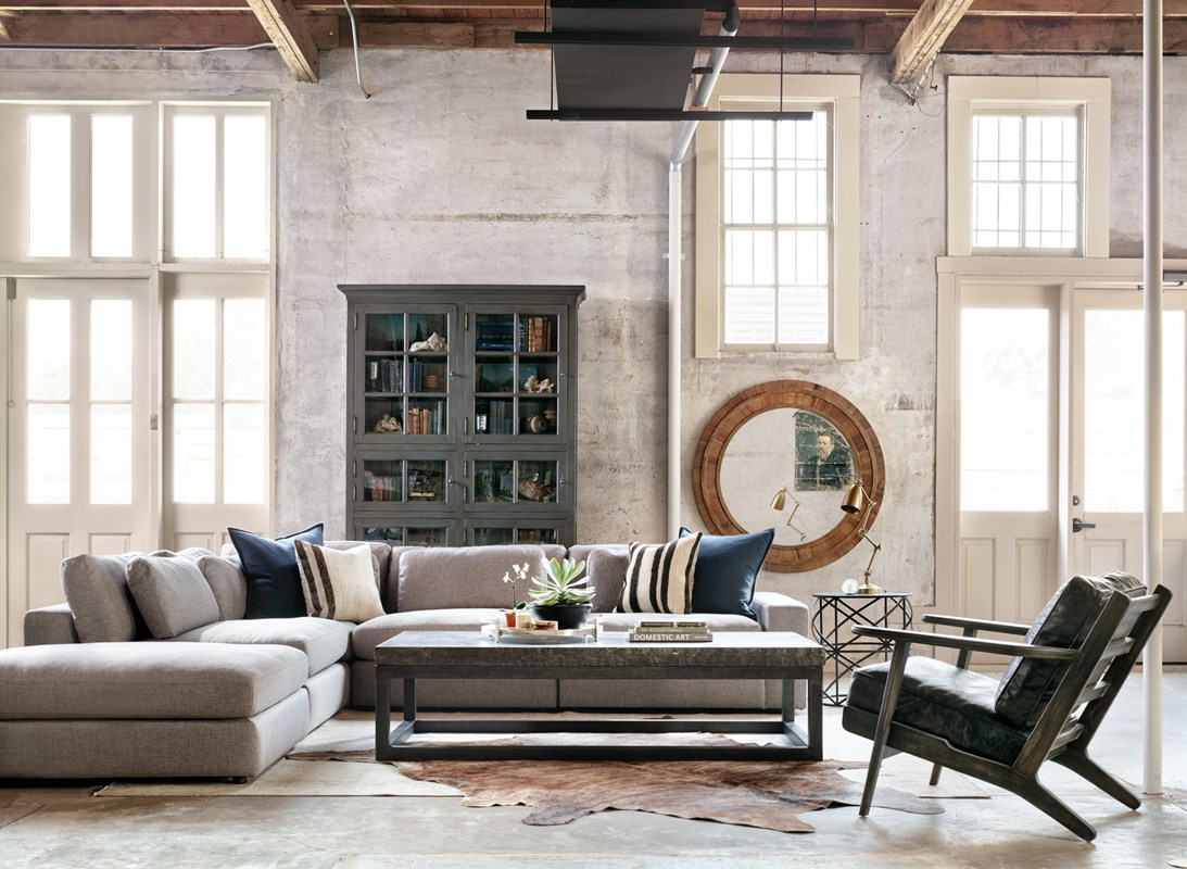 Lookbook gallery from left to right bloor sectional 6 door bookcase the chiseled top table geotapseo Gallery