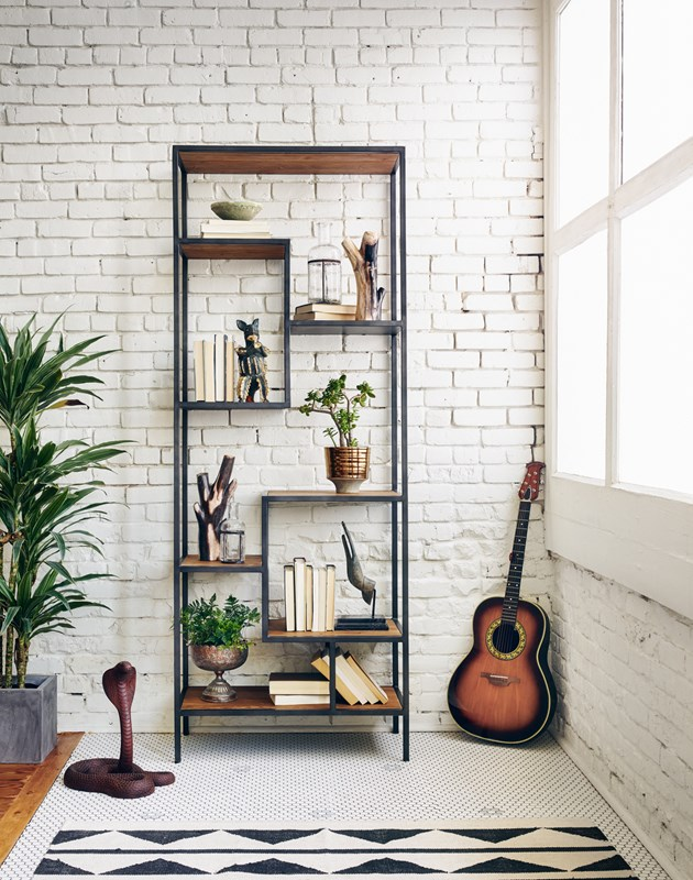 "Featured: Helena 83"" Bookcase"