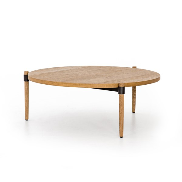 Peachy Holmes Coffee Table Smoked Drift Oak Four Hands Look Book Caraccident5 Cool Chair Designs And Ideas Caraccident5Info