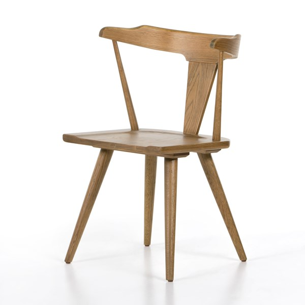 Peachy Ripley Dining Chair Sandy Oak Four Hands Look Book Ocoug Best Dining Table And Chair Ideas Images Ocougorg